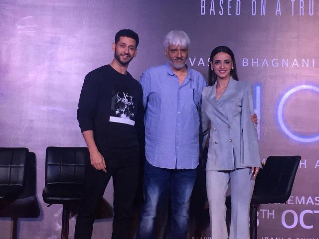 Shivam Bhaargava, Vikram Bhatt, Sanaya Irani at Ghost press conference