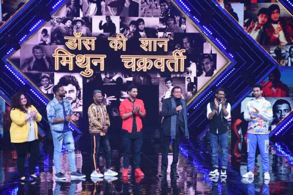 Mithun Chakraborty Gets Emotional On Dance+ 5