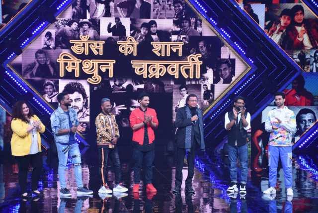 Mithun Chakraborty Gets Emotional On Dance+ 5