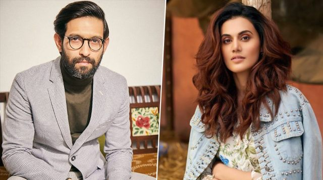 Taapsee Pannu and Vikrant Massey