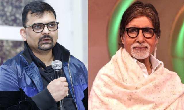 Gaurang Doshi and Amitabh Bachchan