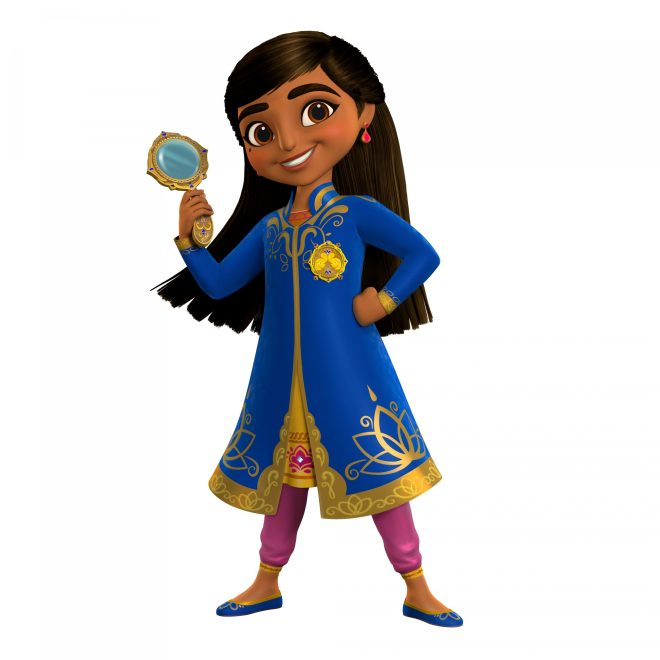 "MIRA, ROYAL DETECTIVE - Production has begun on ""Mira, Royal Detective,"" an animated mystery adventure series for preschoolers inspired by the cultures and customs of India. The series is slated to debut on Disney Junior channels and programming blocks around the world in 2020. (Disney Junior) MIRA"