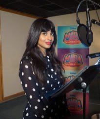 "MIRA, ROYAL DETECTIVE - Jameela Jamil voices Auntie Pushpa on Disney Junior's ""Mira, Royal Detective"". (Disney Junior) JAMEELA JAMIL"
