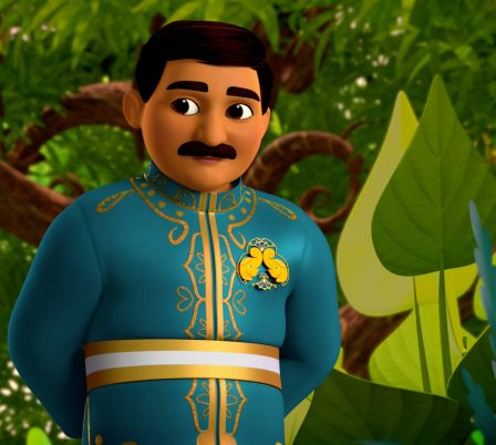 MIRA, ROYAL DETECTIVE - Set in the magical Indian-inspired land of Jalpur, the series follows the brave and resourceful Mira, a commoner who is appointed to the role of royal detective by the queen and travels throughout her kingdom to help royals and commoners alike. (Disney Junior) SAHIL