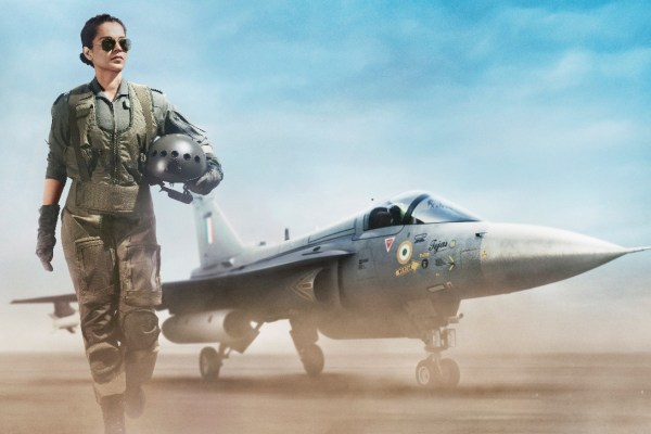 Kangana Ranaut as an Air Force Pilot in the first look of Tejas