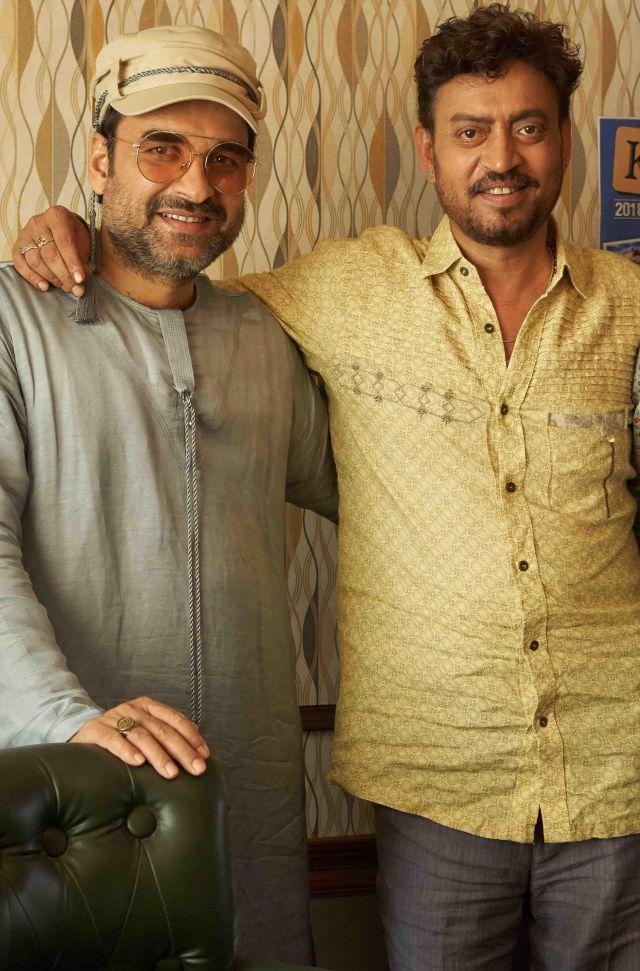 Pankaj Tripathi and Irrfan Khan