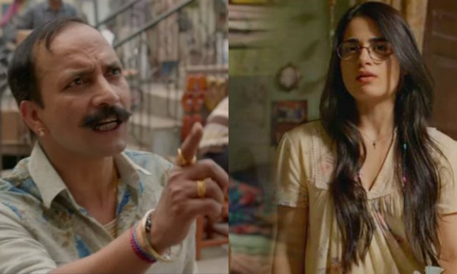 Radhika Madan and Deepak Dobriyal In Angrezi Medium