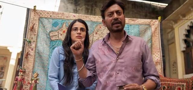 Radhika Madan  and Irfaan Khan In Angrezi Medium