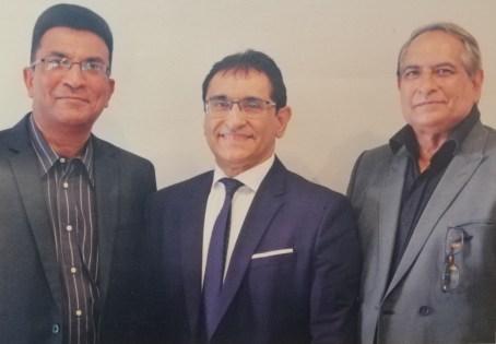 Ali Ebrahim (CEO), Nazier Ebrahim and Atawullah Sonday
