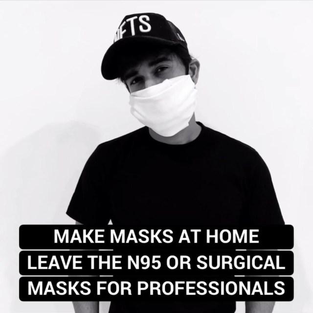 Pulkit Samrat Urges Fans To Make Their Own Masks At Home