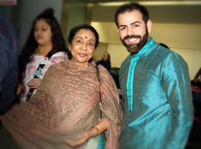 Sunny Moza & Asha Bhosle