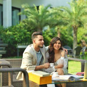 MIllind Gaba and Tulsi Kumar