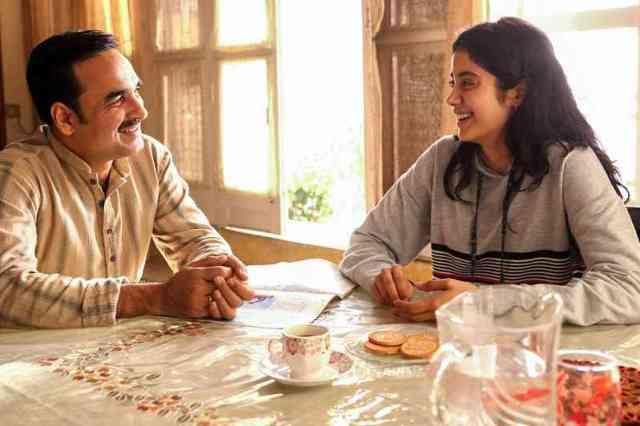 Gunjan with father