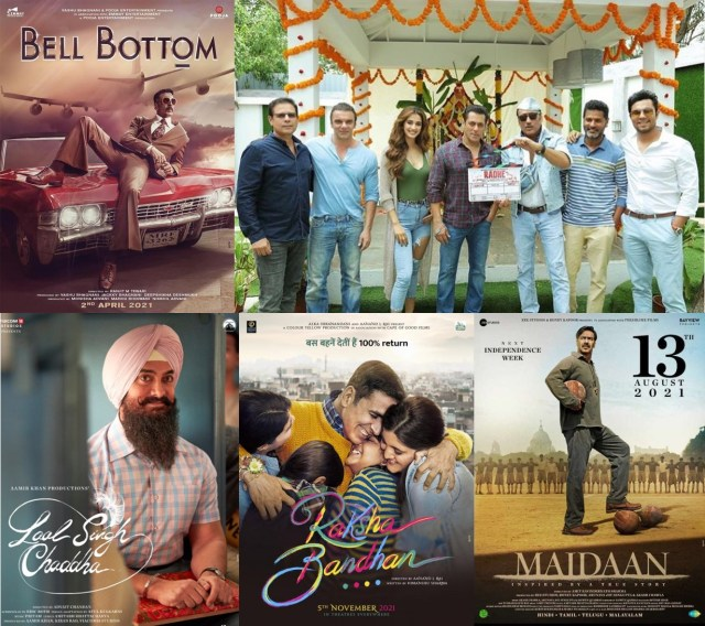 Big Bollywood Films To Release In 2021