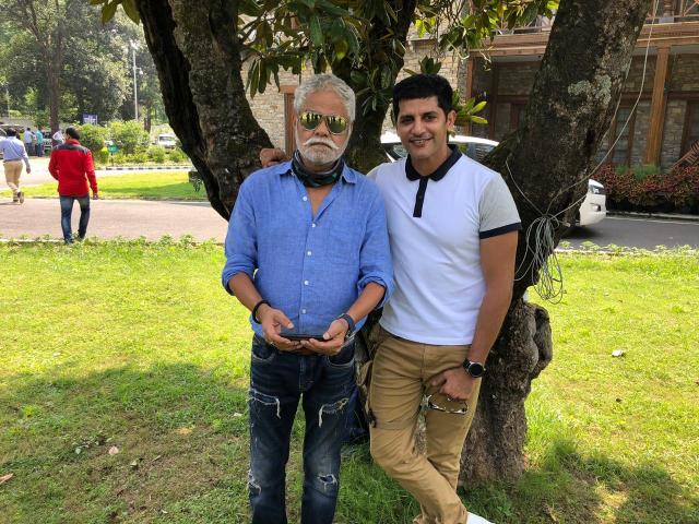 Karanvir Bohra Begins Shoot For His Upcoming Film 'Kutubminar'