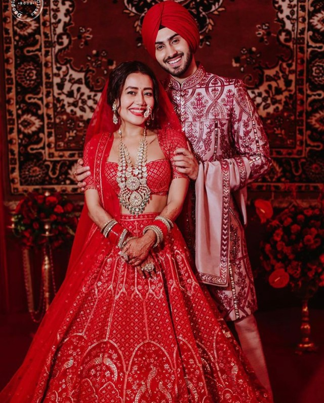 Neha Kakkar Releases Wedding Pictures
