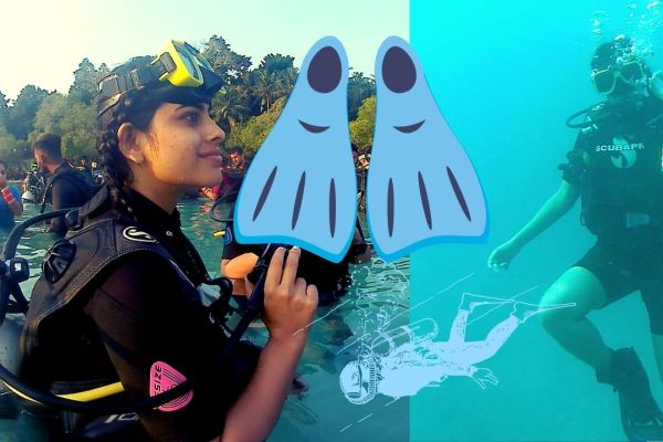 Anisha Victor goes scuba diving - Pic 2