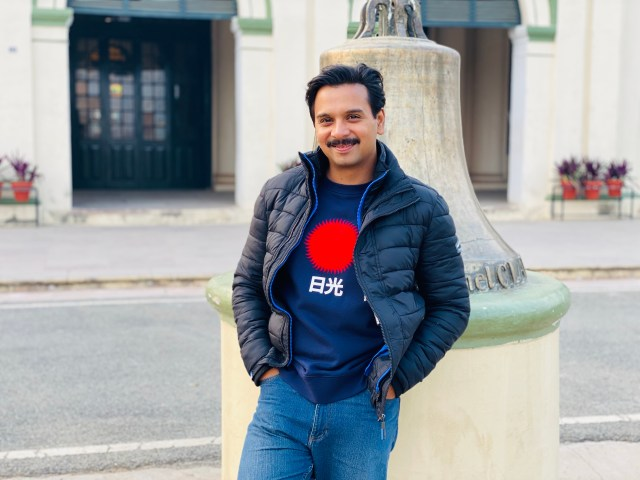 Namit Das Wraps Up The Shoot For Aafat-E-Ishq