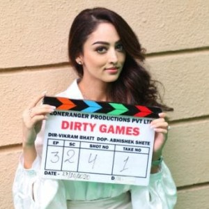 Sandeepa Dhar Begins Shooting For Vikram Bhatt's 'Dirty Games'