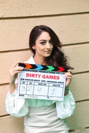 Sandeepa Dhar Begins Shooting For Vikram Bhatt's 'Dirty Games'