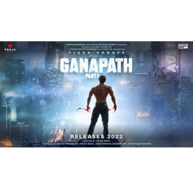 Ganapath Is A Futuristic Action Entertainer Starring Tiger Shroff