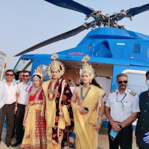 Reel Lakshman Arun Mandola played Lakshman in Ayodhya!