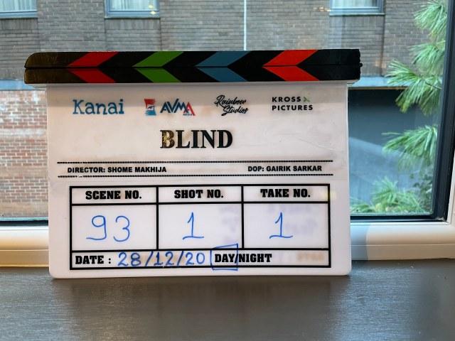 Shooting begins for Sonam Kapoor Ahuja starrer BLIND
