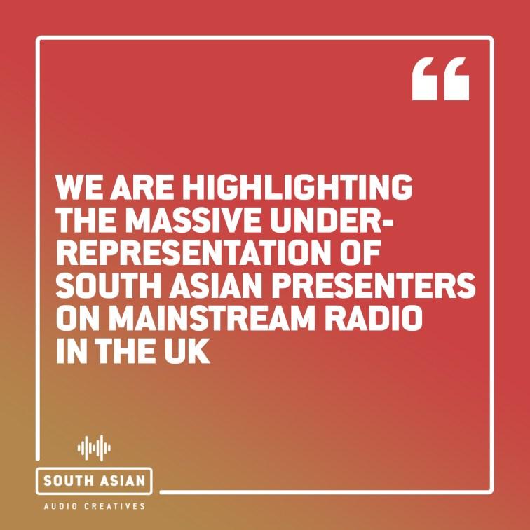 British South Asian radio creatives aremassively underrepresentedin mainstream radio, says SAAC