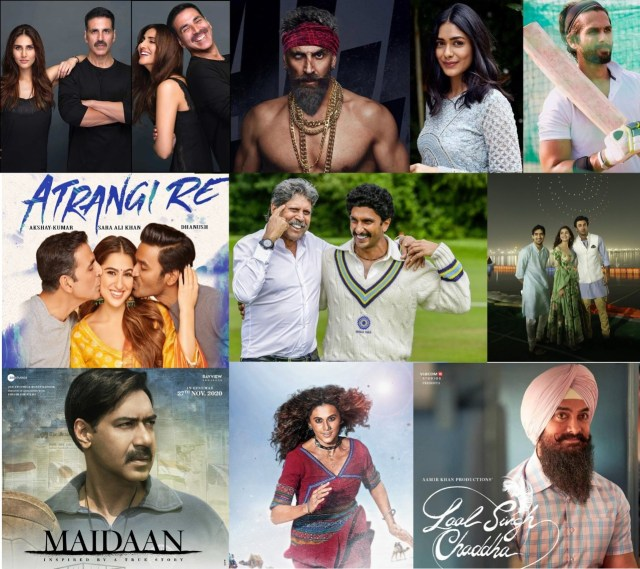 In 2021, Bollywood promises to pack a cinematic punch with big ticket movies