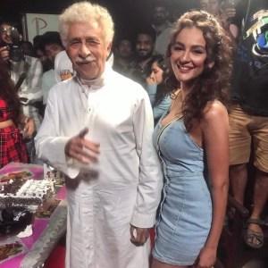 Seerat Kapoor announces her Bollywood debut alongside Naseeruddin Shah and Tusshar Kapoor with Maarrich