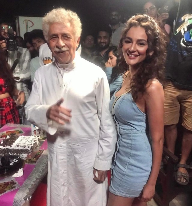 Seerat Kapoor announces her Bollywood debut alongside Naseeruddin Shah and Tusshar Kapoor with Maarrich