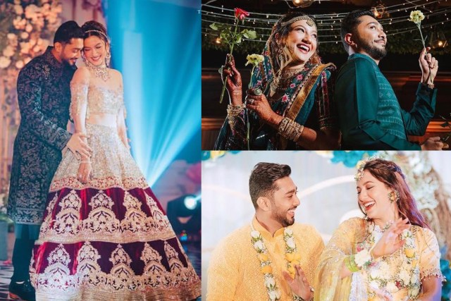 Gauahar Khan Celebrates One Month Of Marriage Anniversary With Hubby Zaid Darbar