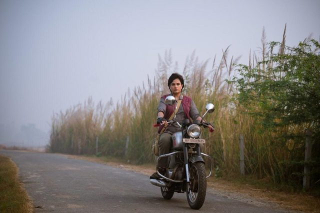 Richa Chadha learns to ride a bike for the movie 'Madam Chief Minister'