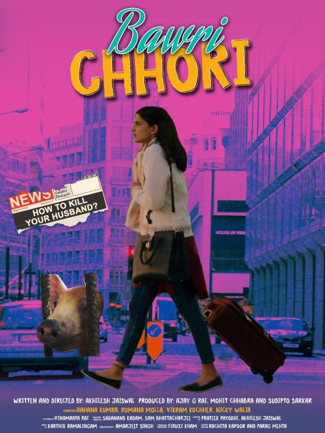 Aahana Kumra starrer film 'Bawri Chhori' begins streaming now on Eros Now!