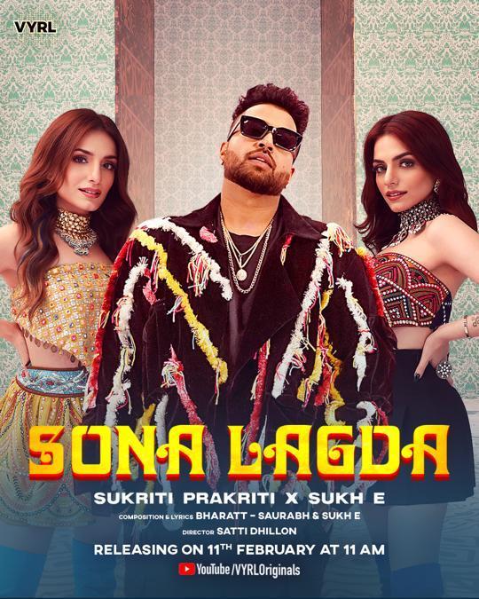 Sukriti & Prakriti's Sona Lagda Is A Peppy Track