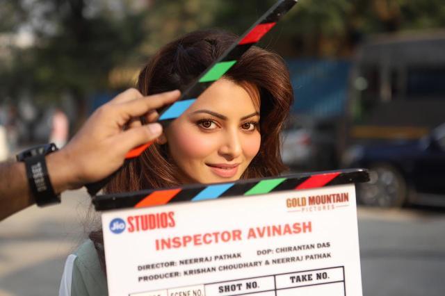Urvashi Rautela wraps up the first schedule of 'Inspector Avinash' opposite Randeep Hooda