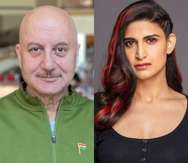 Anupam Kher and Aahana Kumra Wrap Up Shooting For Happy Birthday