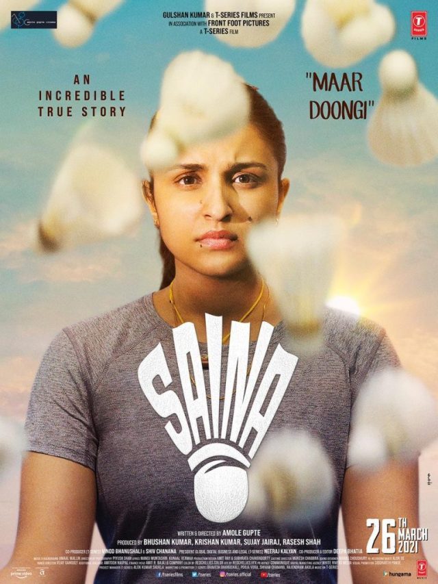 Inspiration & Aspiration the underlying message in Saina's poster!