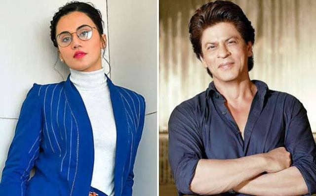 Taapsee Pannu to star opposite Shah Rukh Khan - Read deets