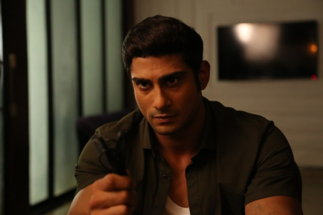 Prateik Babbar gets into action mode, needs no stunt double