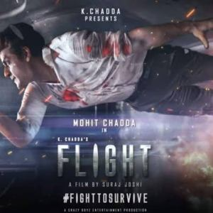 """A film that is worthy of the 'Big Screen' experience,"" share debutant director Suraj Joshi and actor Mohit Chadda as they release the trailer of Flight"