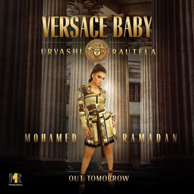 Urvashi Rautela reveals the poster of her International album 'Versace Baby'