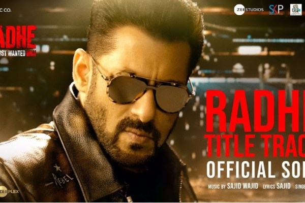 Radhe: Your Most Wanted Bhai title track out now!