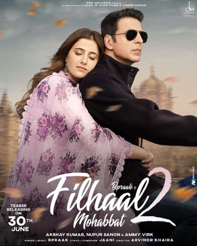 Nupur Sanon expresses excitement for Mohobbat sharing the poster Filhall 2