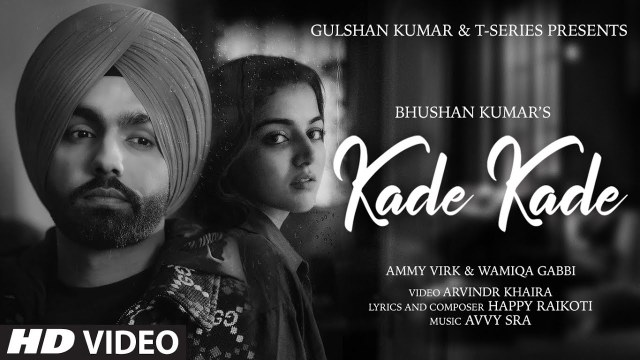 Ammy Virk and Wamiqa Gabbi's 'Kade Kade' is a sad romantic track!