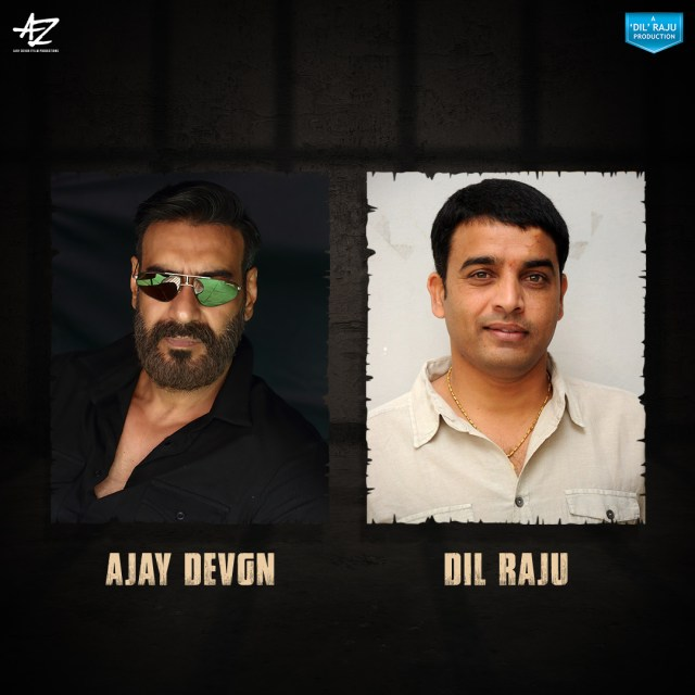 Ajay Devgn and Dil Raju Join hands for the Hindi remake of Telugu hit 'Naandhi'