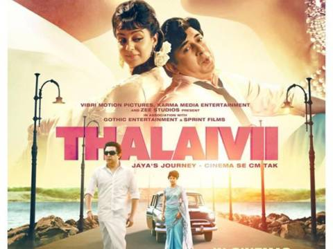 Kangana Ranaut starrer Thalaivii to release in theatres on 10th September