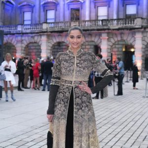 Sonam Kapoor Ahuja attends the Royal Academy's Summer Exhibition Preview Party in London!