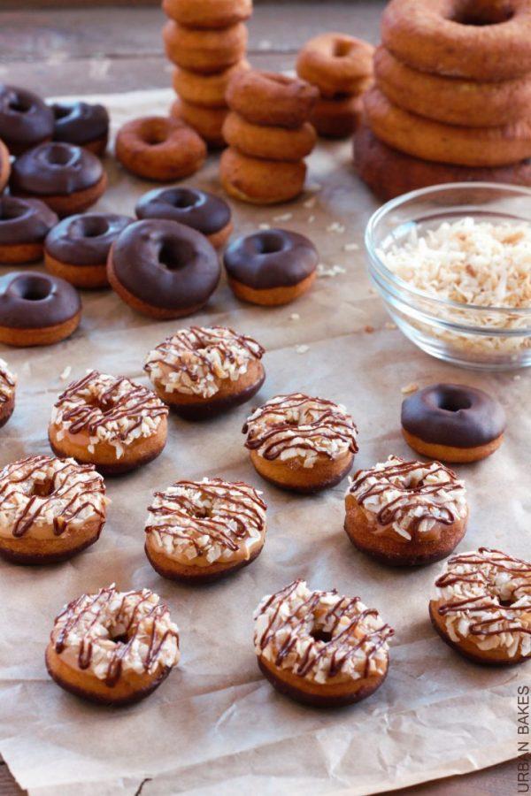 Mini Samoa Donuts | urbanbakes.com