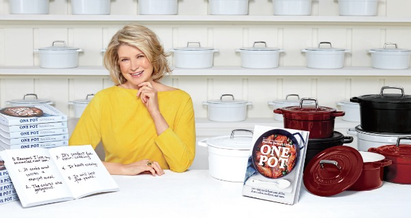 Martha Stewart One Pot Cookbook | urbanbakes.com